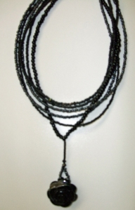 Black necklace #