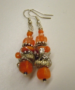 Orange and silver #