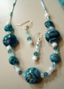 Blue and White Stones #
