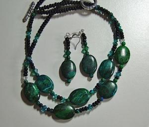 Dark Green Stones #?